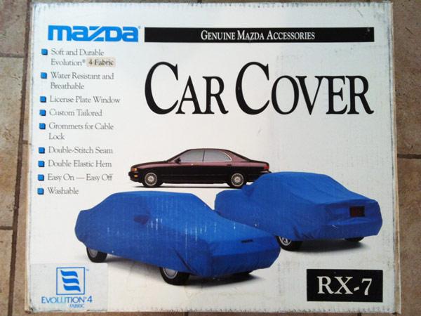 Genuine Mazda Rx7 Car Cover